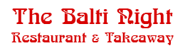 The Balti Night
