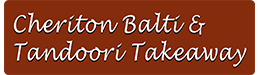 Cheriton Balti & Tandoori Indian Cuisine